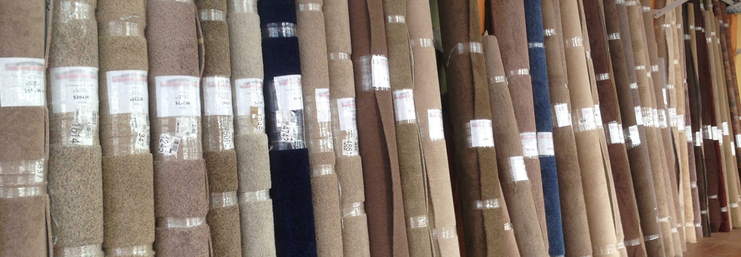 Visit our Showroom for our great selection of carpet rolls and remnants.